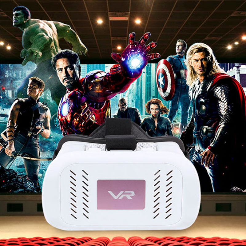 2016 Best selling private model high quality VR box 3d glasses Virtual Reality Helmet Video Glasses for Smartphone 4.7-6