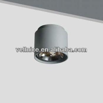 Runde Aluminium Halogen Ar111 Deckenleuchte/qr111 G53 Lampenfassung ...