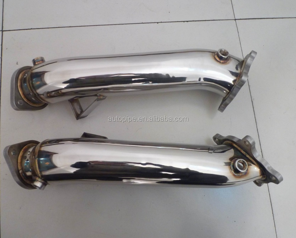 89mm gtr35 stainless exhaust pipe