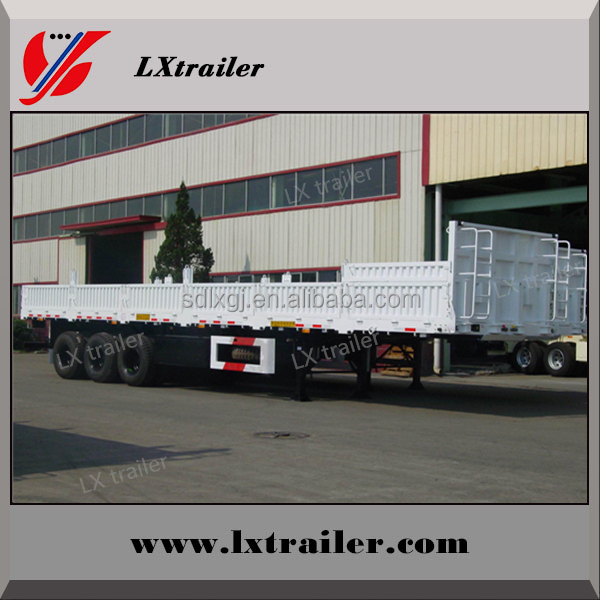 Livestock or other cargo semi trailers with side and rear door for sale