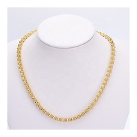 Wholesale Fashion Jewelry Men 18K Gold Plated Chain Jewelry