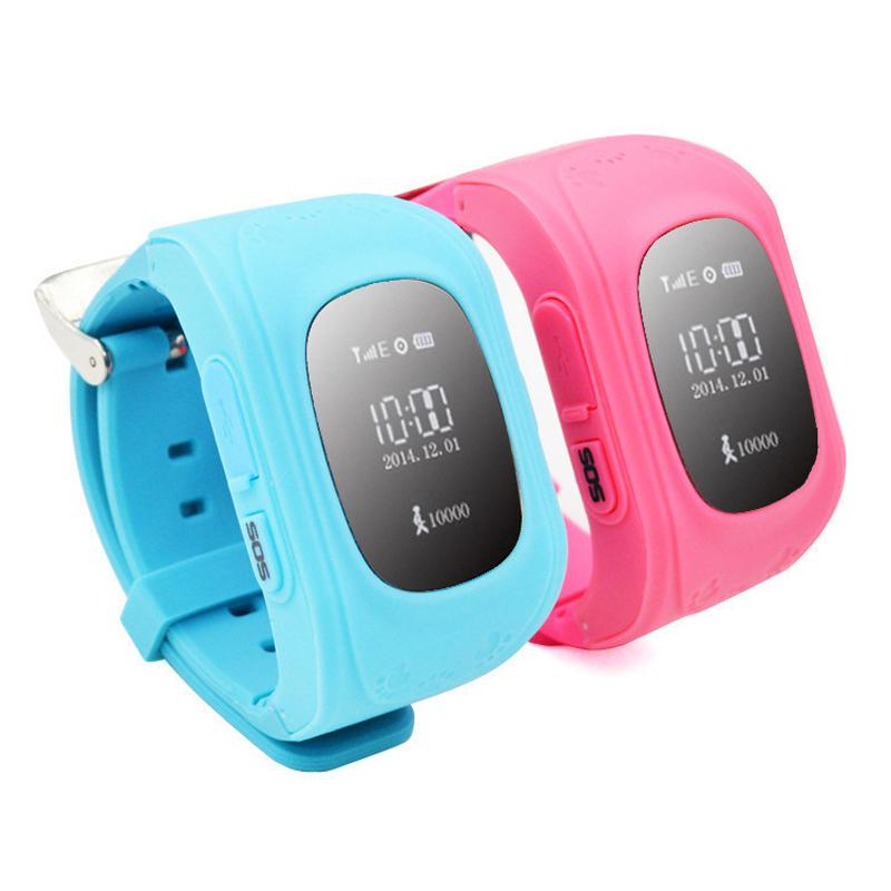 Смартфон часы детей ребенок наручные часы W5 GSM GPRS GPS локатор трекер анти-потерянный Smartwatch ребенок для iOS Q50