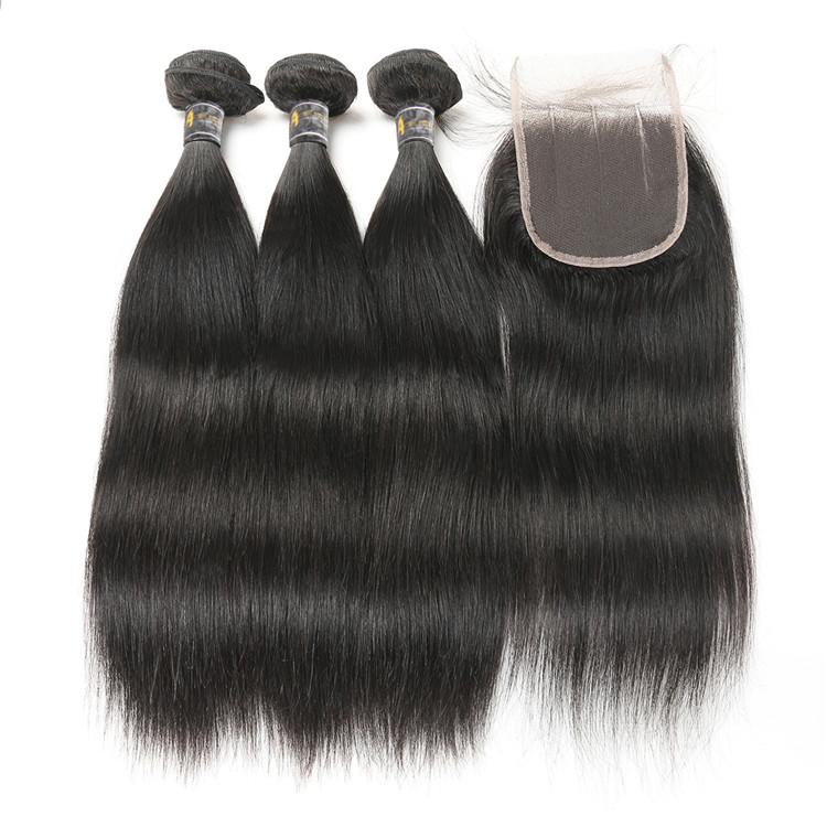 Best Selling Wholesale Full Cuticle 100 Human Hair Brazilian Virgin, Natural black 1b;1#;1b;2#;4# and etc