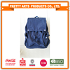 BSCI SEDEX Pillar 4 really factory audit 100% cotton backpack high quality denim school bag laptop bag