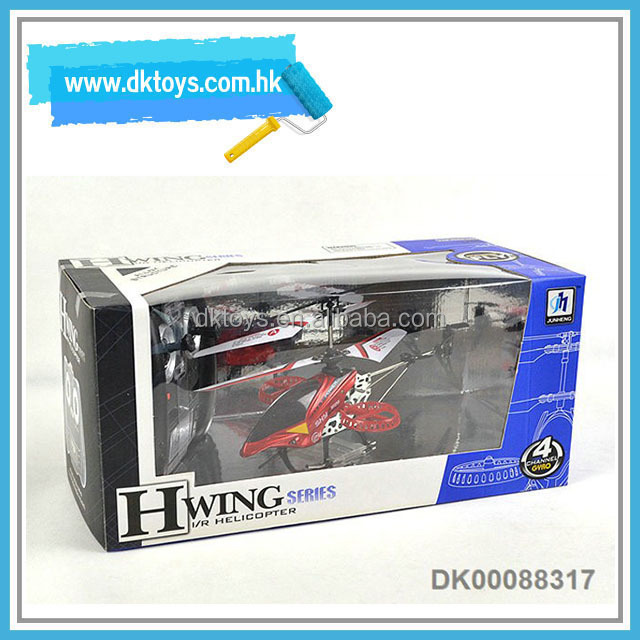Hot Sellling 4CH RC Alloy Structure Helicopter W/Gyro