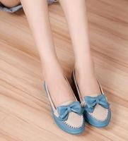 New design hot sale flower bowknot fashion trend lovable nifty lady shoes