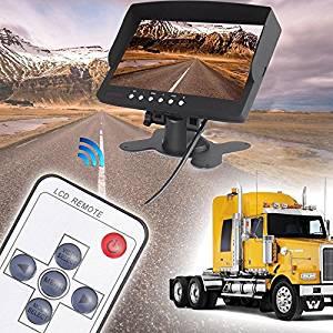 Eachbid 7 inch TFT Color LCD Car Monitor + Rear View Backup Camera Night Vision