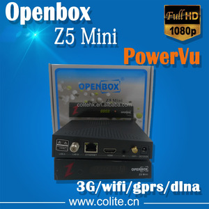 HD Satellite Receiver Mini Openbox Z5 Mini with PowerVu patch and Biss