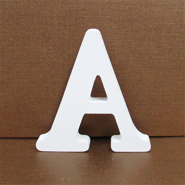 10cm White Wooden Letter English Alphabet Diy Personalised Name Design Art Craft Free Standing Heart Wedding Home Decor Buy White Wooden Letters Wedding Home Decor Product On Alibaba Com