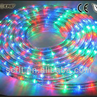164' Rgb Led Color Changing 4-wire Flat Led Rope Light