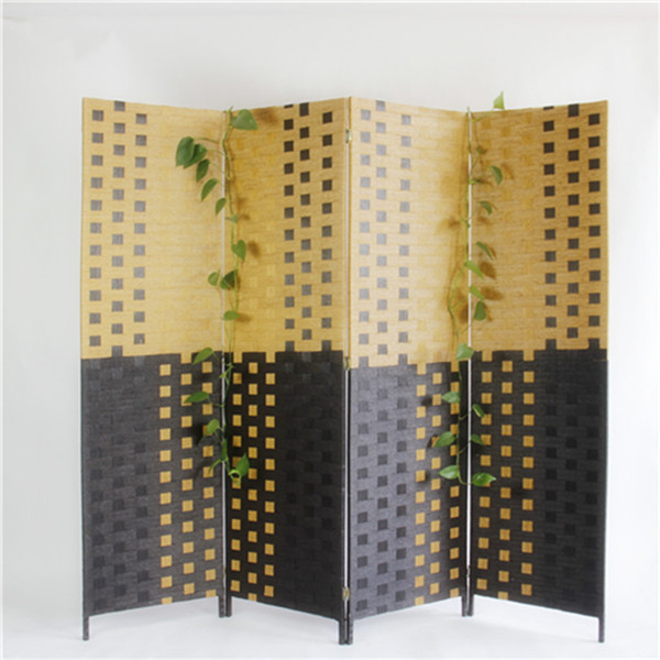 แบบพกพาไม้แบ่งห้อง6แผงกระดาษร้านอาหารพาร์ทิชัน