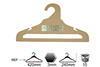 logo recycled paper brand clothes hanger