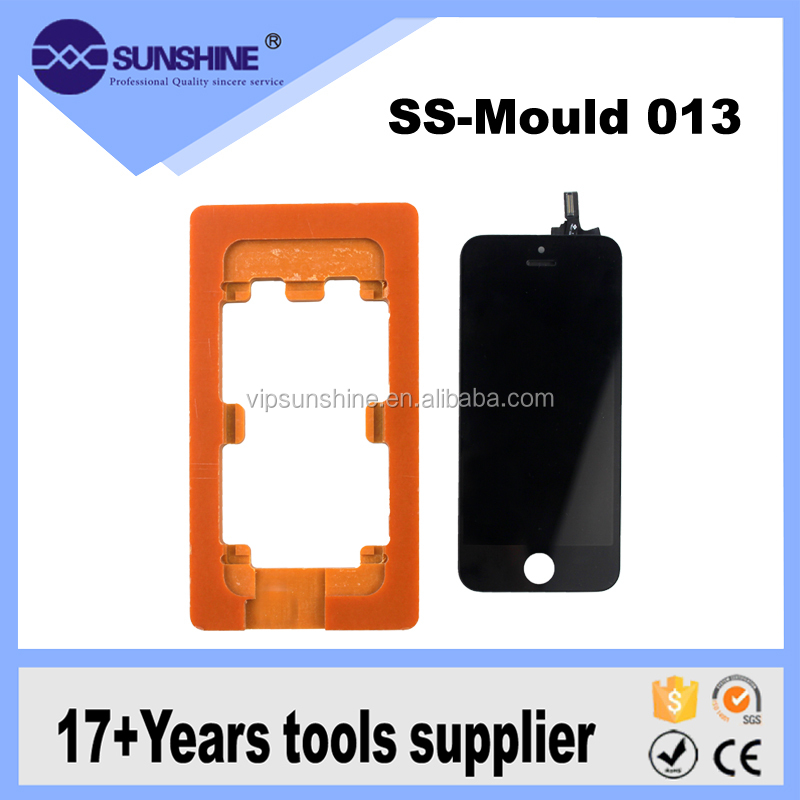 Water Glue Pressure Screen Positioning Fitting Rubber Bakelite Mold For Various Phone Models