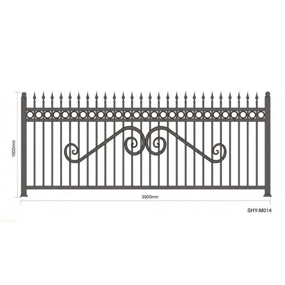 Wrought iron fence designs wholesale fence designs suppliers alibaba workwithnaturefo