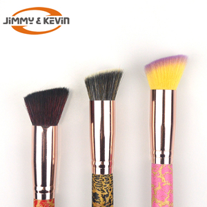 JIMMY&KEVIN Big Size Makeup Brush Foundation Brush Wooden Handle Liquid makeup brush