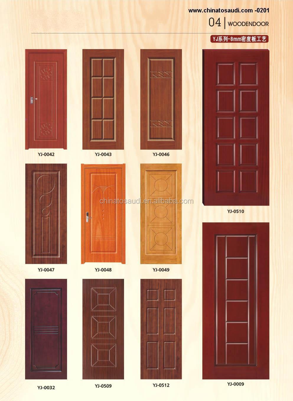 Modern wood door new design wooden door for bedroom