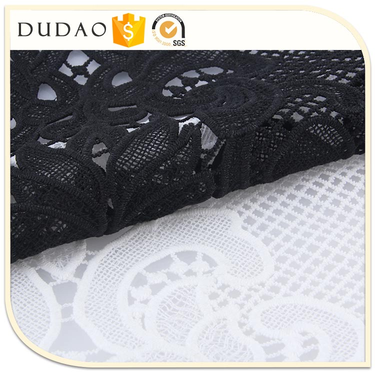 Professional Women Cloth Fabric Manufacturer Sexy Fabric white bridal lace fabric for berta wedding dress