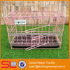PVC Coated folding metal mesh dog cages(have stock)