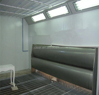 Environmental Water curtain Furniture Spray Booth inside the Booth (CE approved)