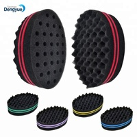 2015 Hot selling hair twist curl sponge/dreadlocks sponge hair twist sponge hair brush