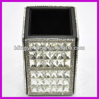 Fashion crystal office pen holder BY 3526