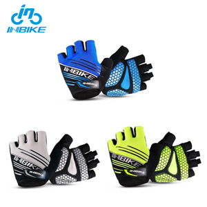 INBIKE Colorful Fingerless Bike Sports Rubber Neoprene Gloves