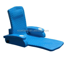 Swimming Pool Chair XPE Floating Foam Mat and Funny Bean Bag Chairs Water Noodle Chair with Inflatable Pool Floating Tray