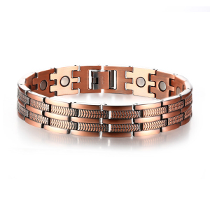 Mens accessories jewelry health care bio magnetic healing bracelet