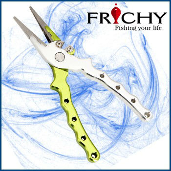 FPA02S Straight Nose Aluminium Fishing Pliers Fishing Gear