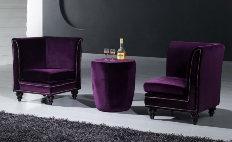 Plum Colored Sofas Furniture Warm Purple Sofa To Complete