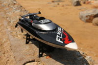 2.4G 4CH High Speed Boat 45km/h Brushless RC Boat 46cm Length with Water cooling system RC speed Boat FT012 for sale