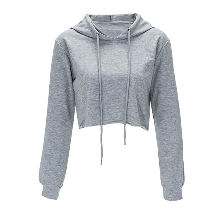 2019 new fashion sweet hoody custom hoodies for women crop top hoodies women