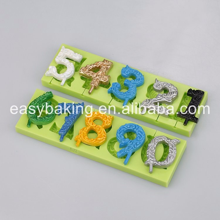 Silicone candle molds