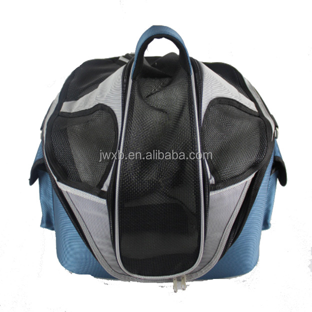 Commercial pet carrier cage basket dog cage blue color