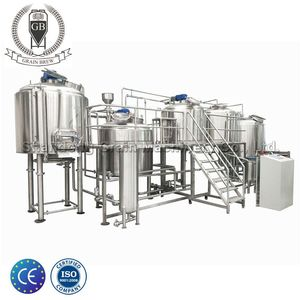 Large Mash Whirlpool Tun Beer Kettle Fermenting Equipment For Sale