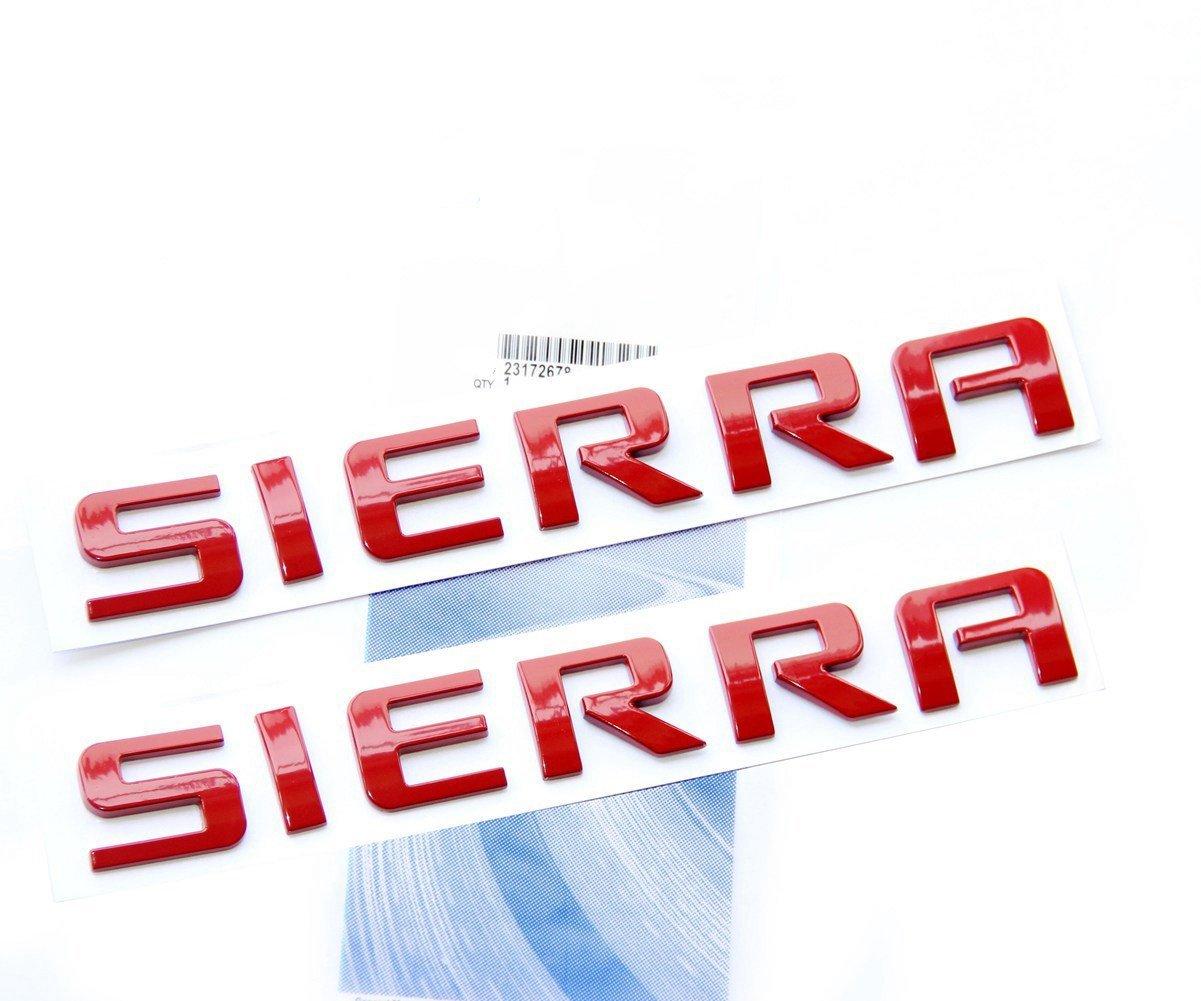 Yoaoo 3x OEM Black Denali Nameplate Emblems Hd Badges for Yukon Sierra Terrain Glossy Shiny