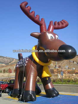 Giant Inflatable Reindeer For Advertising