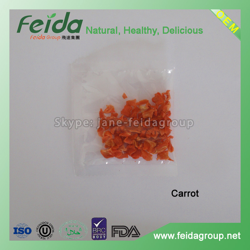 Insant Noodle Seasonings Carrot granules dehydrated vegetables