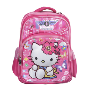 New Style Hello Kitty Kids School Bag For Girls cute cartoon bag