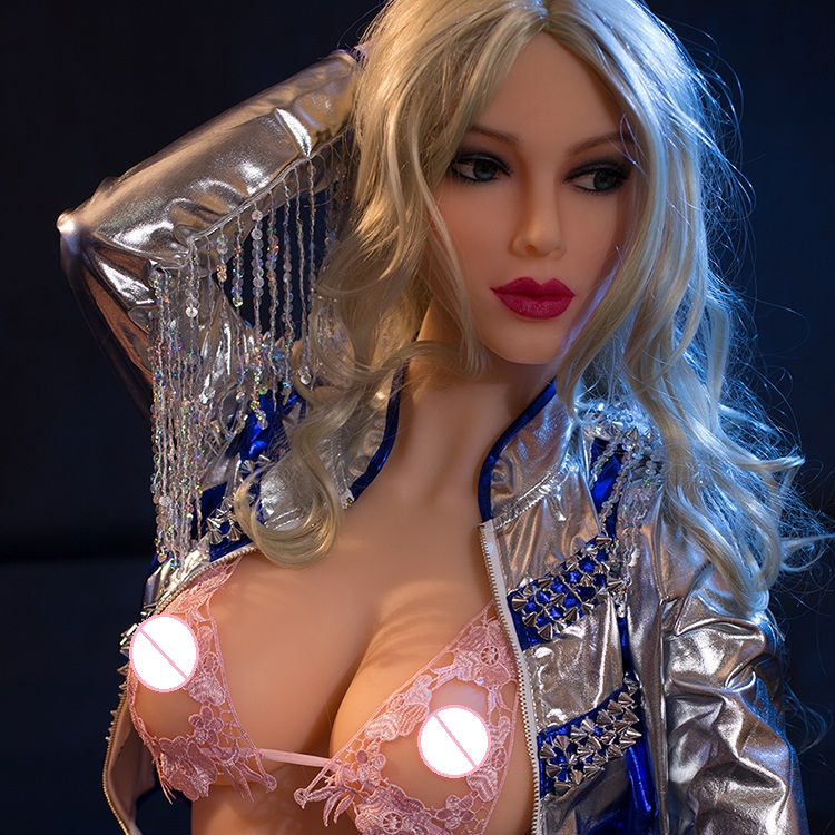 Free Shipping Big Breast Tits Plush Hermaphrodite Full Silicone Mature Robot Sex Doll