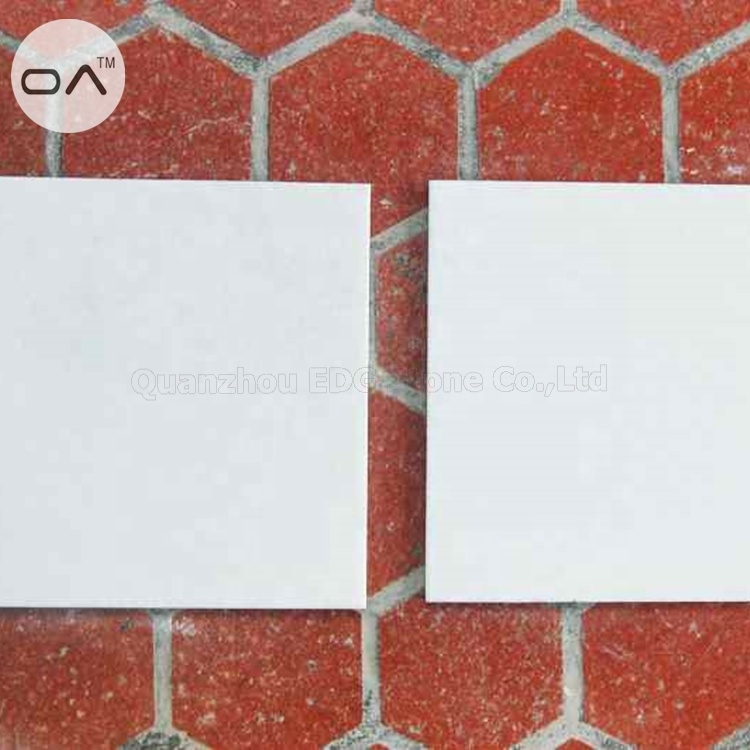 Crystal White Liquid Marble Crystallize Tiles