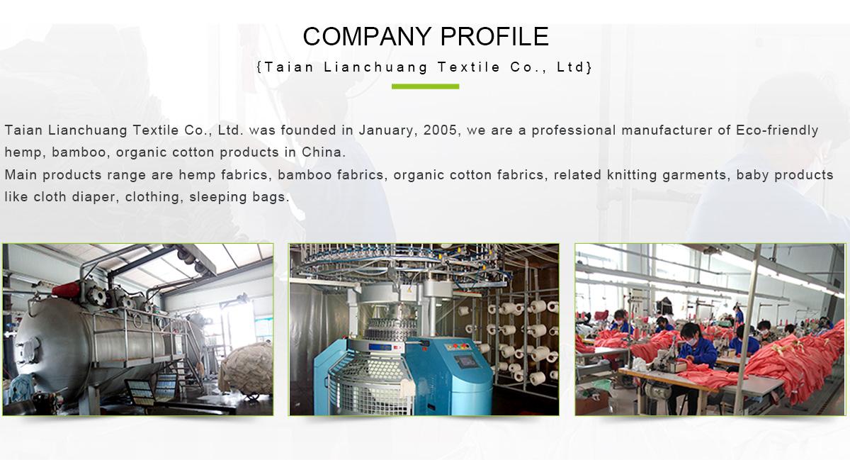 Taian Lianchuang Hemp Textile Co , Ltd  - Hemp, Bamboo