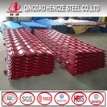 ppgl corrugated steel roofing sheet thermocol