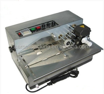 MY-380 automatic numbering machine/date,batch number for label, plastic bag