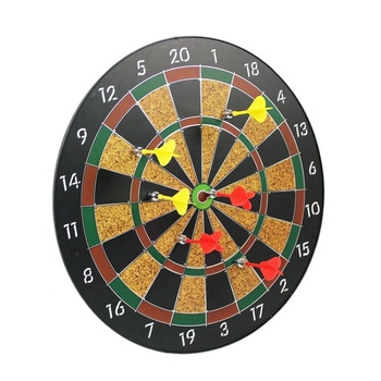 New arrival Indoor Plastic Magnetic Dartboard For Kids With 6 Brass safety Darts