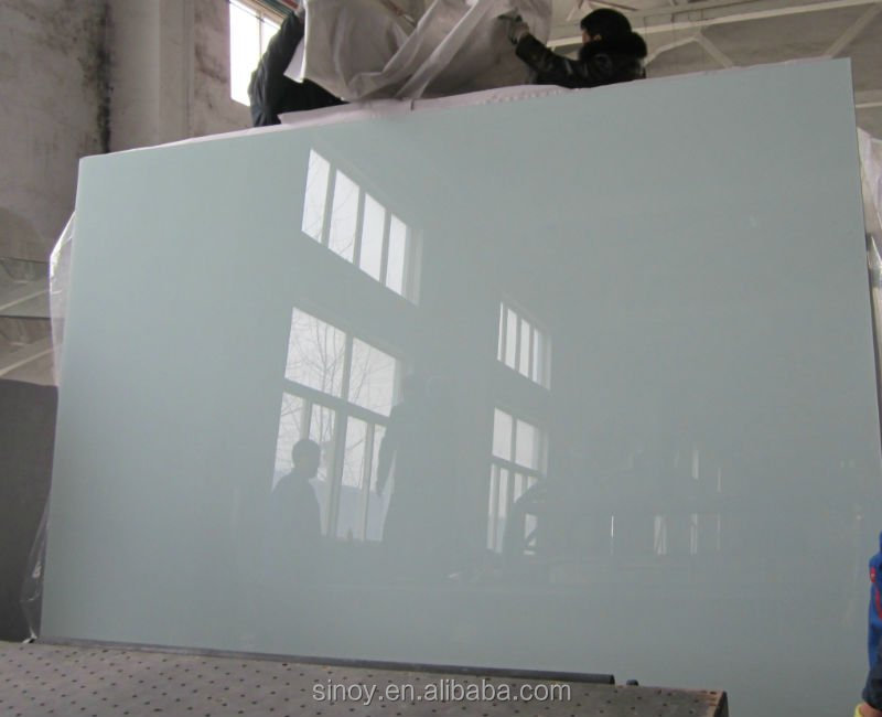 Back Painted Glass Mirror For TV Wall