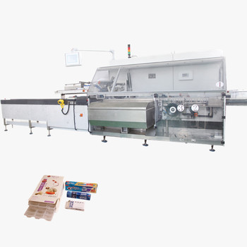 Vertical automatic cosmetic food soap packaging cartoning machine