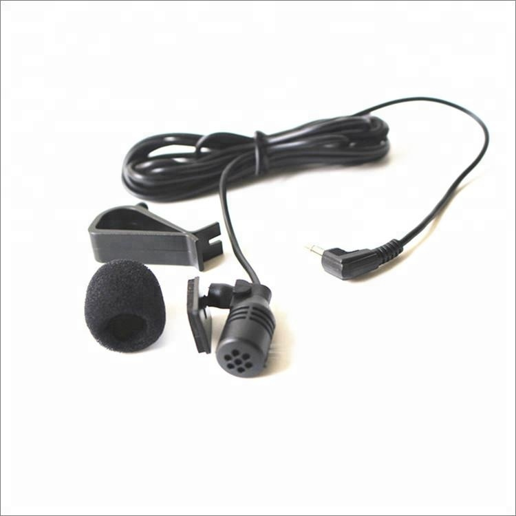 Omnidirectional condenser clip on lavalier lapel microphone for car GPS assembling Smartphones PC Laptop Audio фото