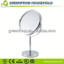 7 Inch Round Chrome Mens Shaving Mirror