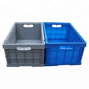 light duty folding feature and plastic material storage box&bins
